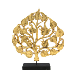 The Home Bodhi Gilded Wood Gold Large