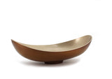 "The Home Bronze Gold Wash Basin 17""X10"""