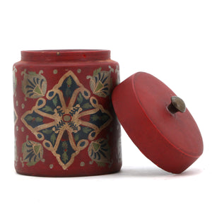 The Home Painted Canister 141499 Red