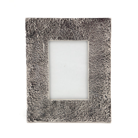 The Home Metallic Photo Frame Silver Very Big 9X11 Inch