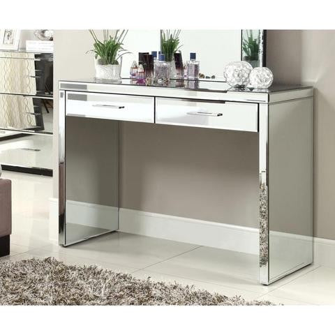 Mirrored Console Table, 2 Drawer VDHZ1003