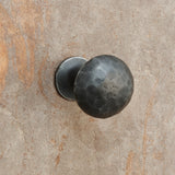 The Home Hand Forged Iron Hardware Iron Knob HC-1161-3X3X4.5CM