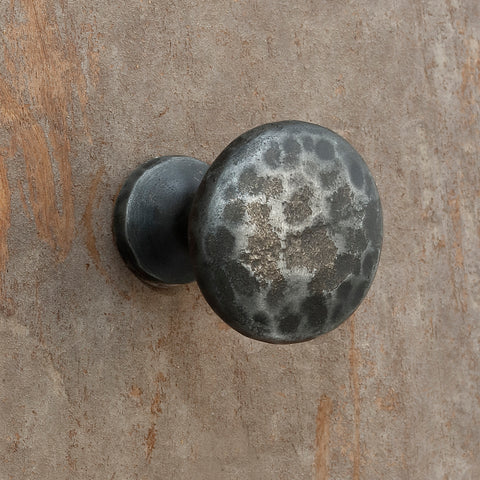 The Home Hand Forged Iron Hardware Iron Knob HC-1164-2.5X2.5X3CM