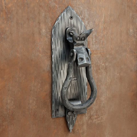 The Home Hand Forged Iron Hardware Iron Door Knocker HC-411