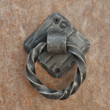 The Home Hand Forged Iron Hardware Iron Door Knocker MS-31