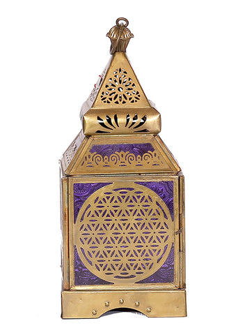 The Home Lantern Antique Brass 30184010