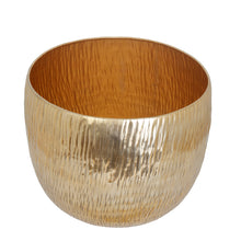 Load image into Gallery viewer, The Home Big Round Planter Gold GD876-B