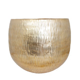 The Home Small Round Planter Gold GD876-D