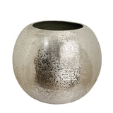 The Home Flower Pot Planter Textured Silver Big BN1500-A