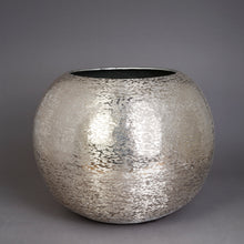 Load image into Gallery viewer, The Home Flower Pot Planter Textured Silver Small BN1500-C