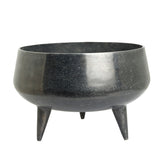 The Home Pot Planter With Legs Black CB1639-A