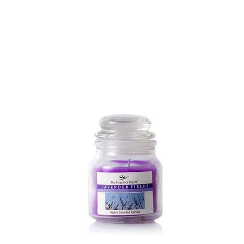 The Home Lavender Fields Small Jar Candle