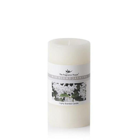 The Home Midnight Jasmine Big Pillar Candle