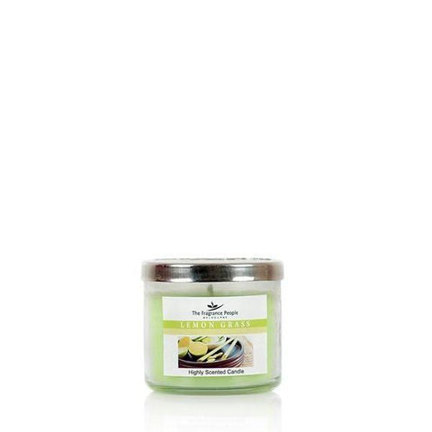 The Home Lemongrass Medium Jar Candle