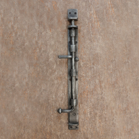 The Home Hand Forged Iron Hardware Iron Tower Bolt HC-1140
