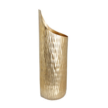 Load image into Gallery viewer, The home Small Wall Vase Hammered Planter Gold GD970-C