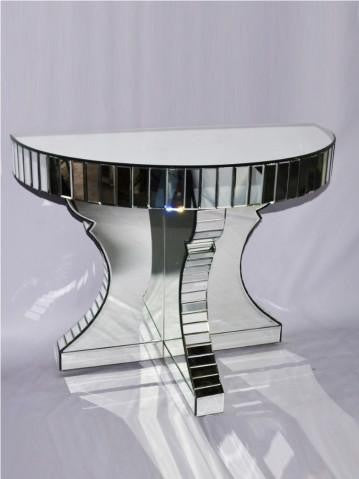 Mirrored Half Moon Console VDMF-101