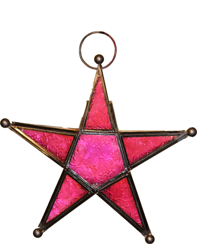 The Home Star Antique Zinc Pink BJ001