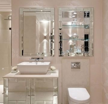 Bath Room Mirror & Cabinet & Shelf VD-PI-646