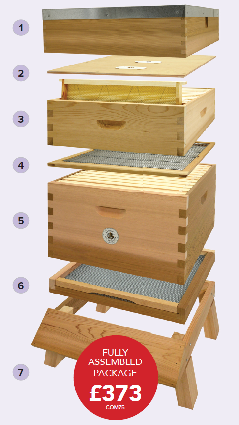 Commercial Hives<