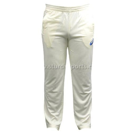Asics Cream Trouser (Mens)-Cricket Trousers-ASICS-Small-Cream-Sturdy Sports