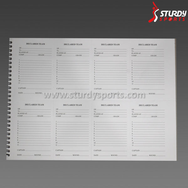 Gray Nicolls ScoreBook - 60 Innings Sturdy Sports