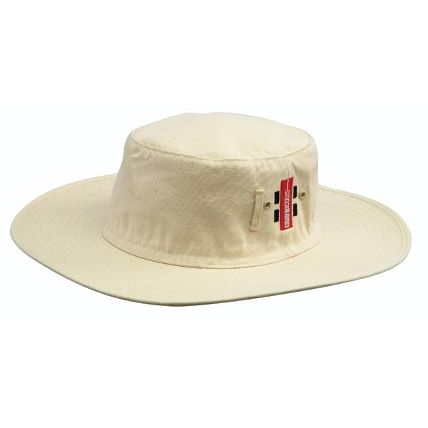 Gray Nicolls Sun Hat Off White Sturdy Sports