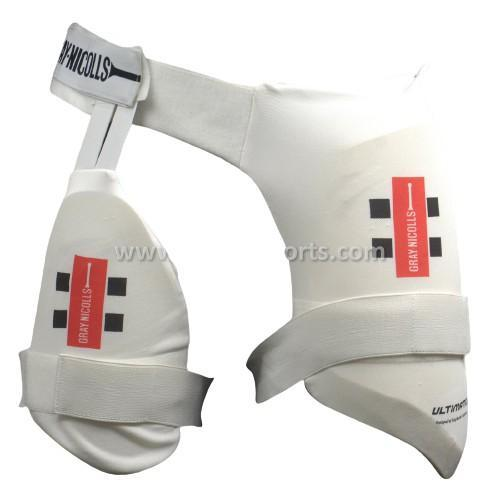 Gray Nicolls Ultimate Combo Thigh Guard - Small Boys Sturdy Sports