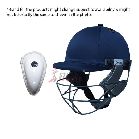 Helmet + Abdo Guard Sturdy Sports
