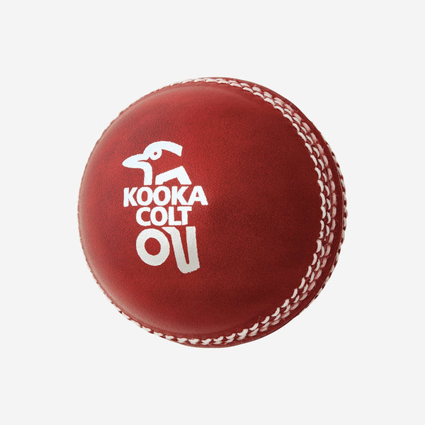 Kookaburra Colt Red - 2 piece Ball (Youth) (Batched) Sturdy Sports