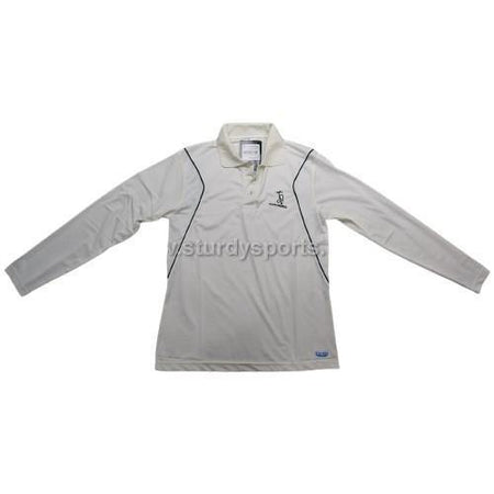 Kookaburra Cream Full Sleeve Shirt (Mens)-Cricket Shirts-Kookaburra-Small-Cream-Sturdy Sports