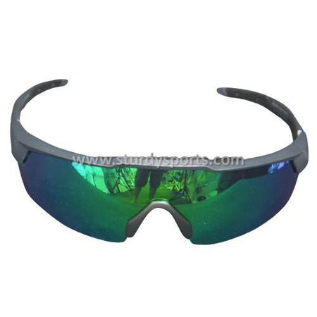 SASA Rebound Sunglasses (Black Frame / Green Lens) Sturdy Sports