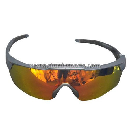 SASA Rebound Sunglasses (Black Frame / Orange Lens) Sturdy Sports