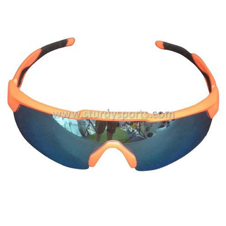 SASA Rebound Sunglasses (Orange Frame / Blue Lens) Sturdy Sports