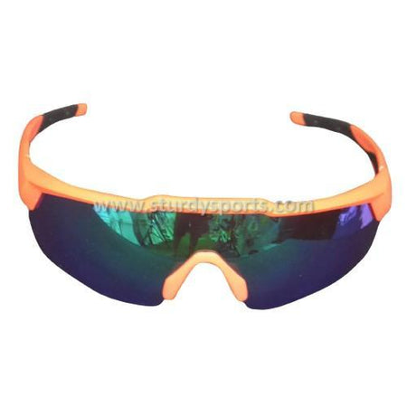 SASA Rebound Sunglasses (Orange Frame / Green Lens) Sturdy Sports