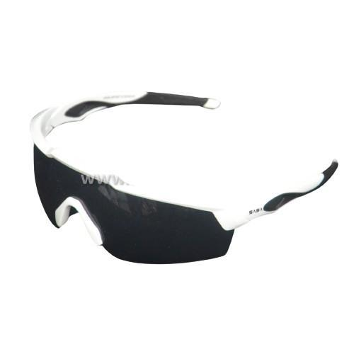 SASA Rebound Sunglasses (White Frame / Black Lens) Sturdy Sports