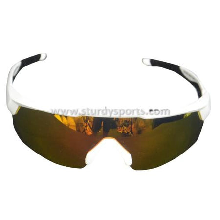 SASA Rebound Sunglasses (White Frame / Orange Lens) Sturdy Sports