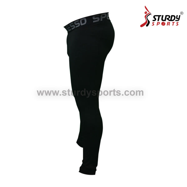 Speed Full Compression Lower - Black Sturdy Sports