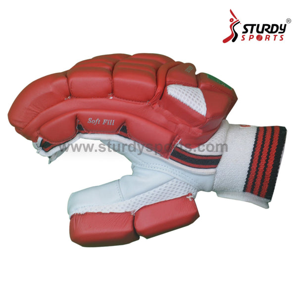 SS Aerolite Batting Gloves - Mens - Red Sturdy Sports