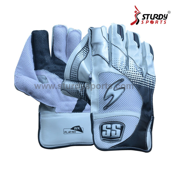 SS Platino Keeping Gloves - Mens Sturdy Sports