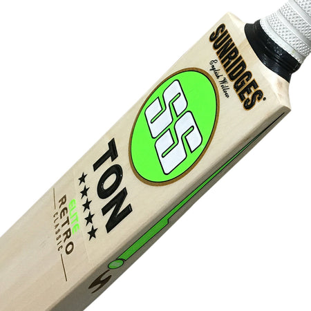 SS Retro Classic Elite Cricket Bat - Senior-English Willow - Mens (SH)-SS-Sturdy Sports