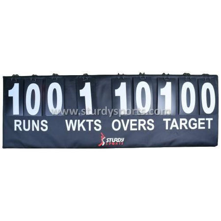 Sturdy Portable Score Board(Run/Wicket/Over/Target)-Score Board-Sturdy-Sturdy Sports
