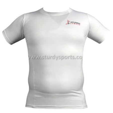 Sturdy Short Sleeve Compression Top (Mens) Sturdy Sports