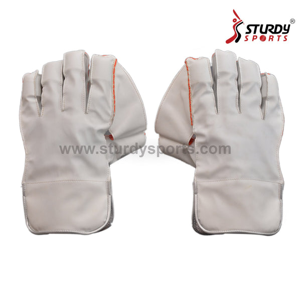 White Keeping Gloves - Mens-Keeping Gloves - Mens-Sturdy-Sturdy Sports