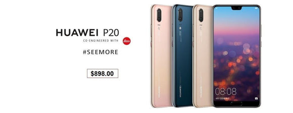 Buy Huawei P20 from your Singapore trusted retailer with local 2 Year warranty