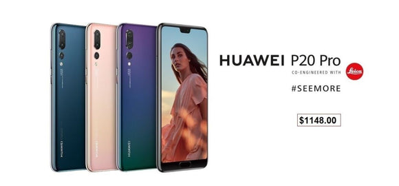 Buy Huawei P20 from your Singapore trusted retailer