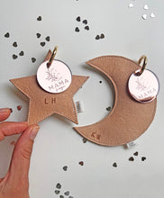 Mama Magic personalised star Bag Tag