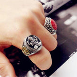 "Luxurious ""Ganesh"" Ring in 925 Silver - SoBuddha"