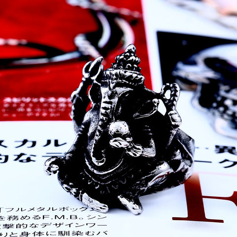 Ganesh the Elephant God Ring - SoBuddha