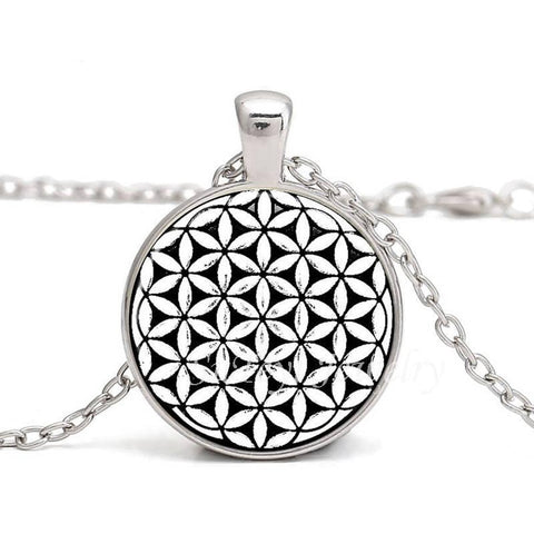 Sacred Geometry Necklace of the Flower of Life - SoBuddha